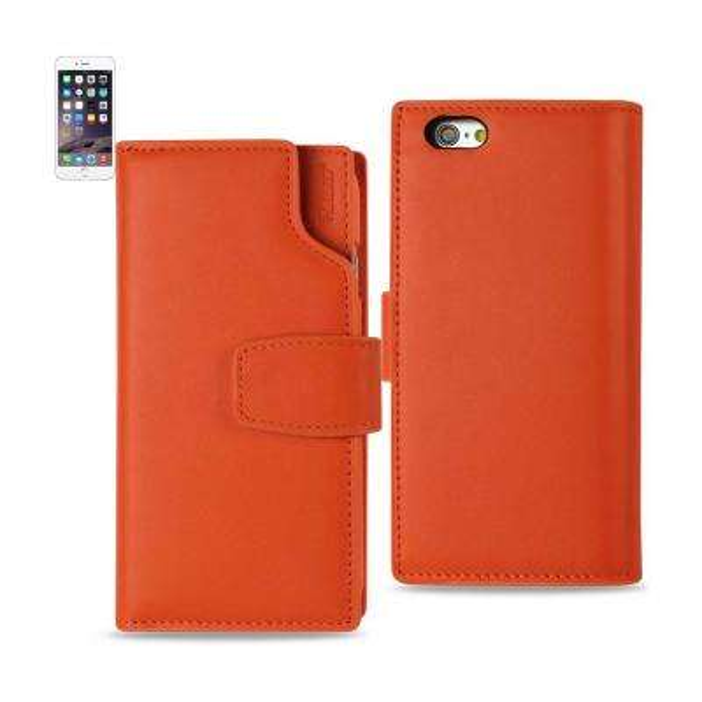 iPhone 6/6S Genuine Leather Design Case in Tangerine