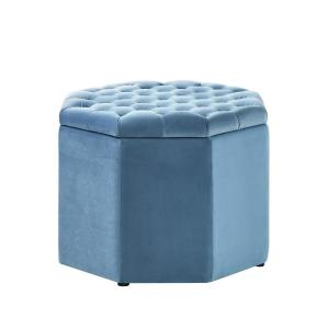 Astounding Inspired Home Luna Light Blue Velvet Upholstered Tufted Machost Co Dining Chair Design Ideas Machostcouk