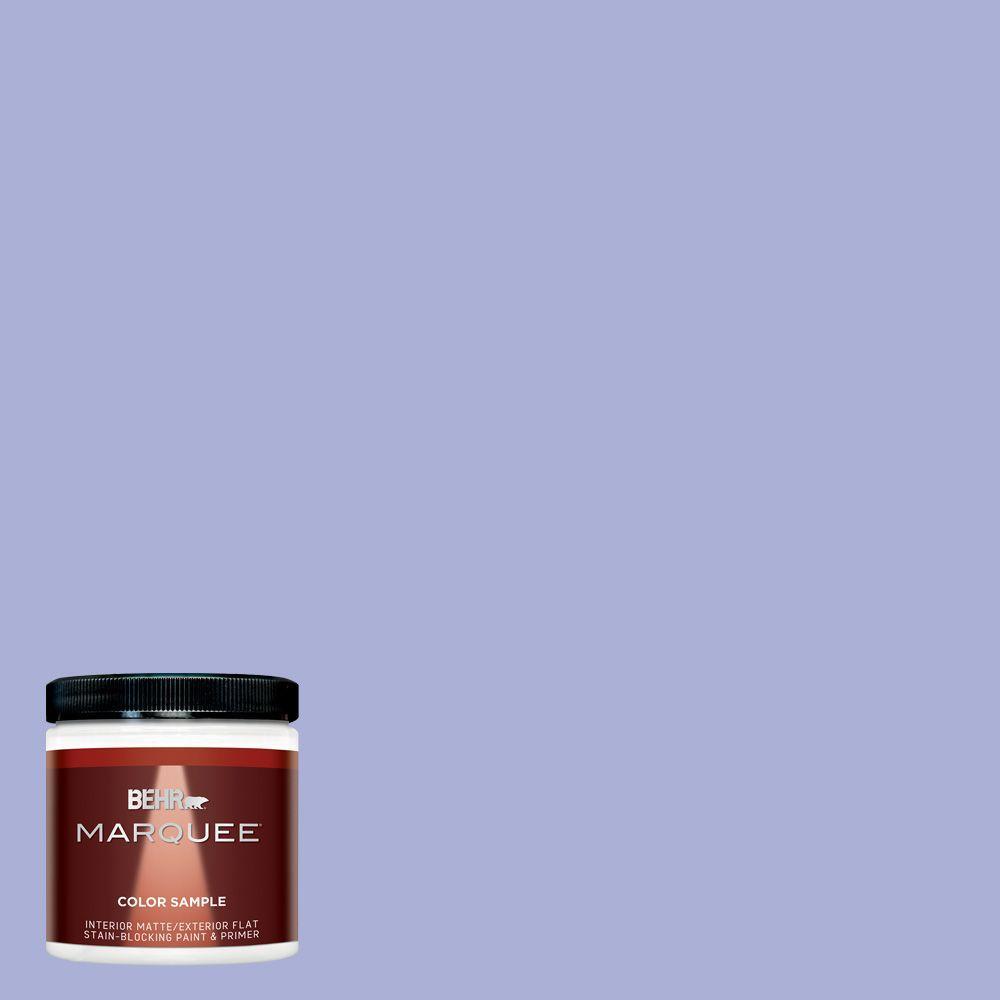 Behr Marquee 8 Oz Mq4 30 Lavender Wash Interior Exterior Paint Sample Mq30016 The Home Depot