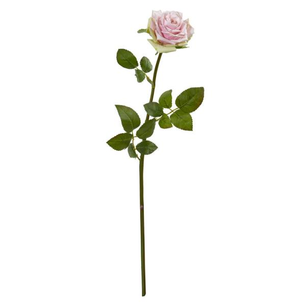 Nearly Natural Indoor 19 Rose Spray Artificial Flower (Set of 12)