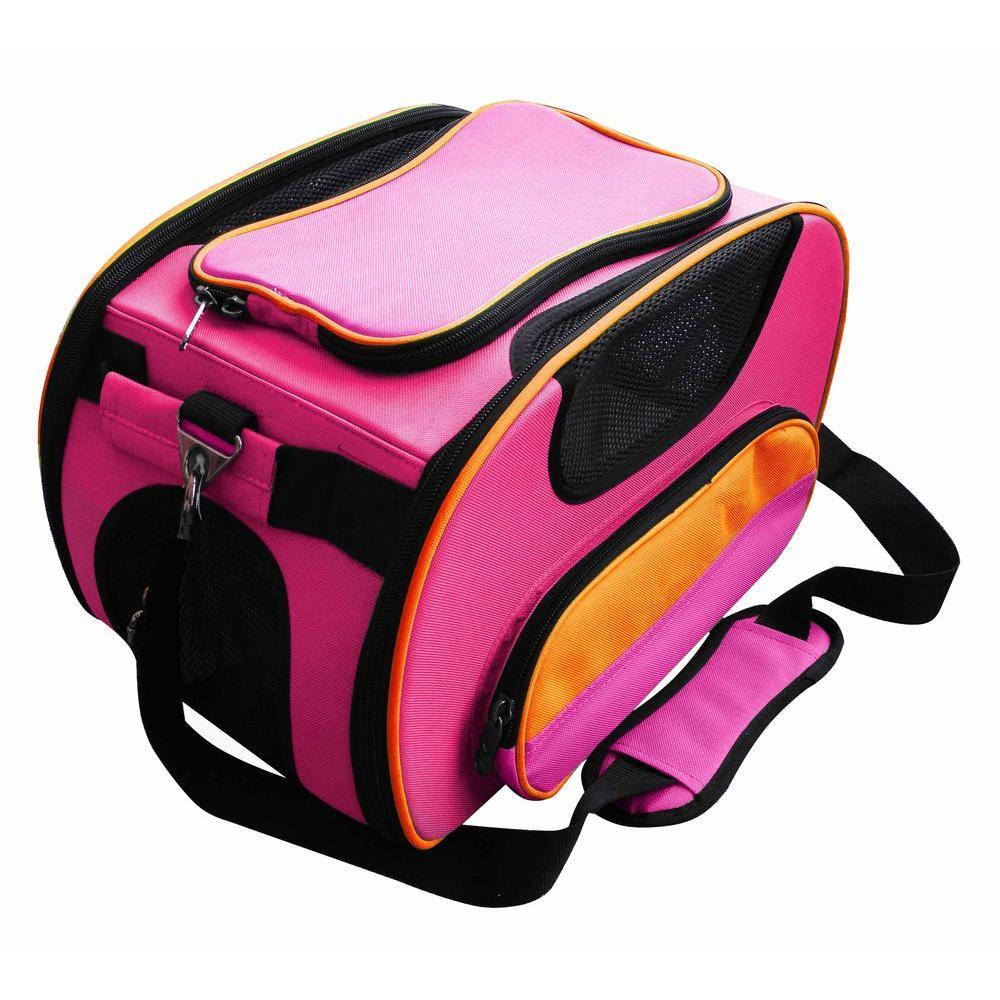 PET LIFE Airline Approved Sky-Max Modern Collapsible Pet Carrier