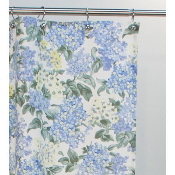 Ellis Curtain Hydrangea 72 In Blue