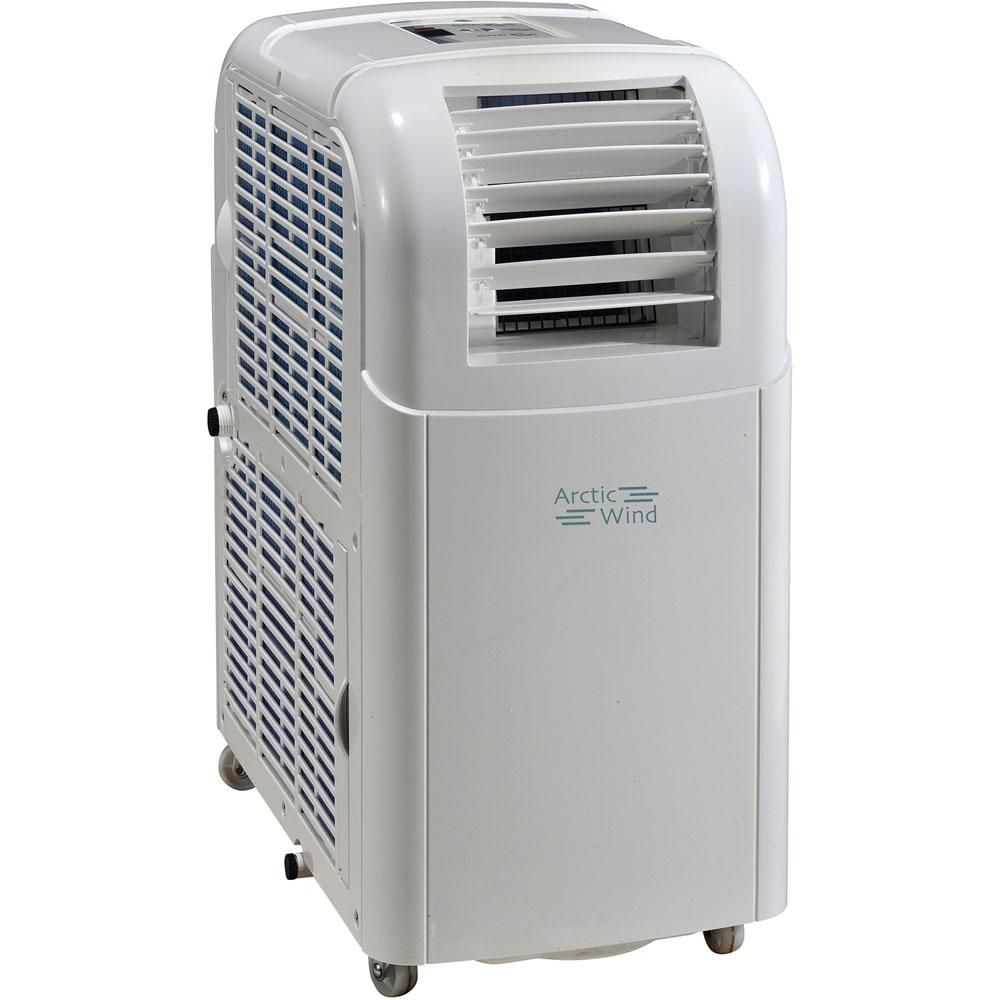 Arctic Wind 8,000 BTU Portable Air Conditioner With Dehumidifier