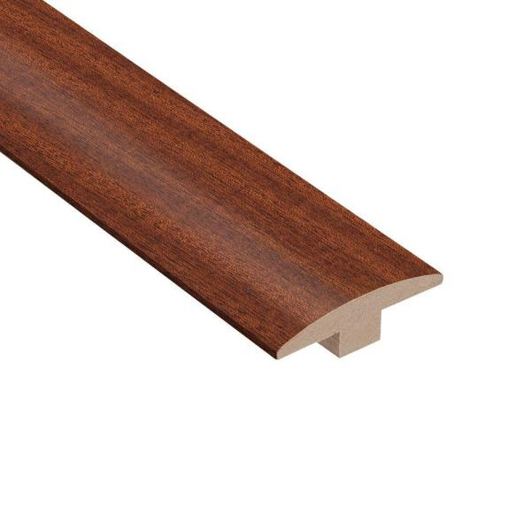 Chicory Root Mahogany 3/8 in. Thick x 2 in. Wide x 78 in. Length T-Molding