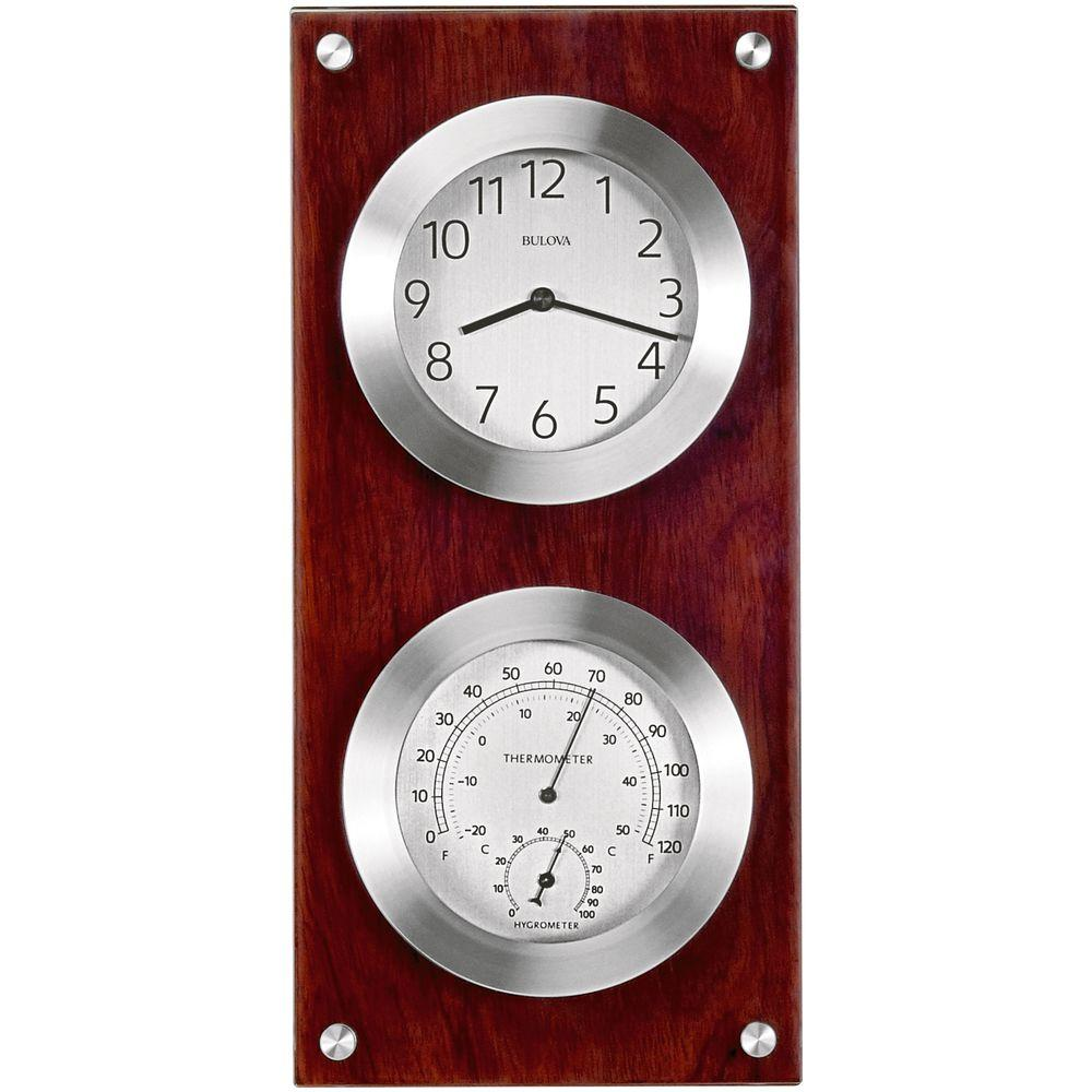 Bulova Mariner 14 5 In H X 7 In W Weather Wall Clock