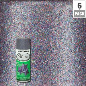 Rust Oleum Specialty 10 25 Oz Purple Glitter Spray Paint