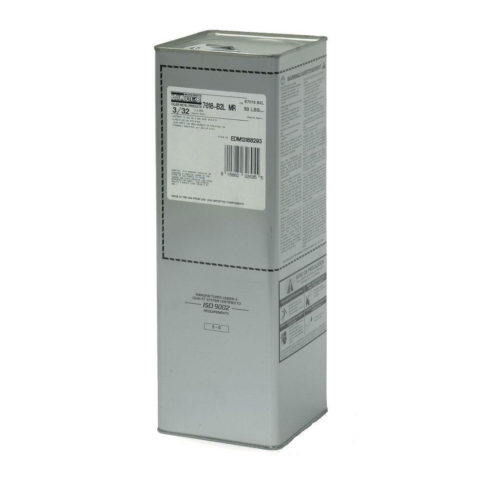 1/8 in. x 14 in. Murex 7018MR Electrode 50 lb.