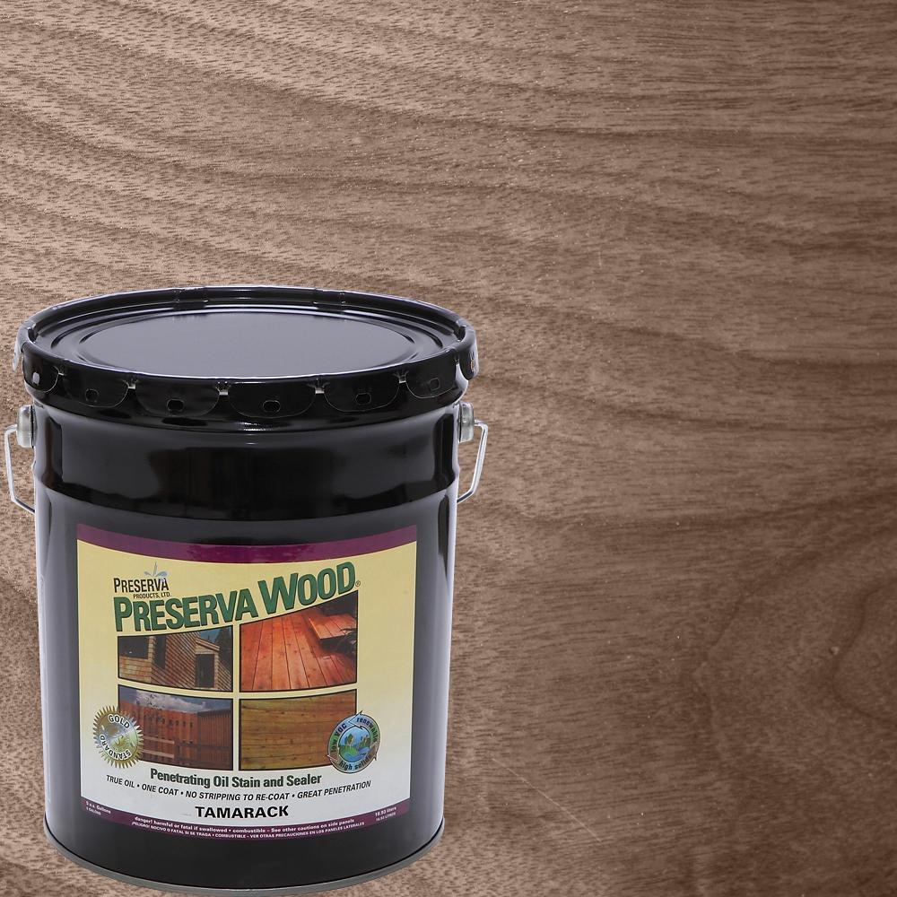 Ready Seal 5 Gal Natural Cedar Exterior Wood Stain And