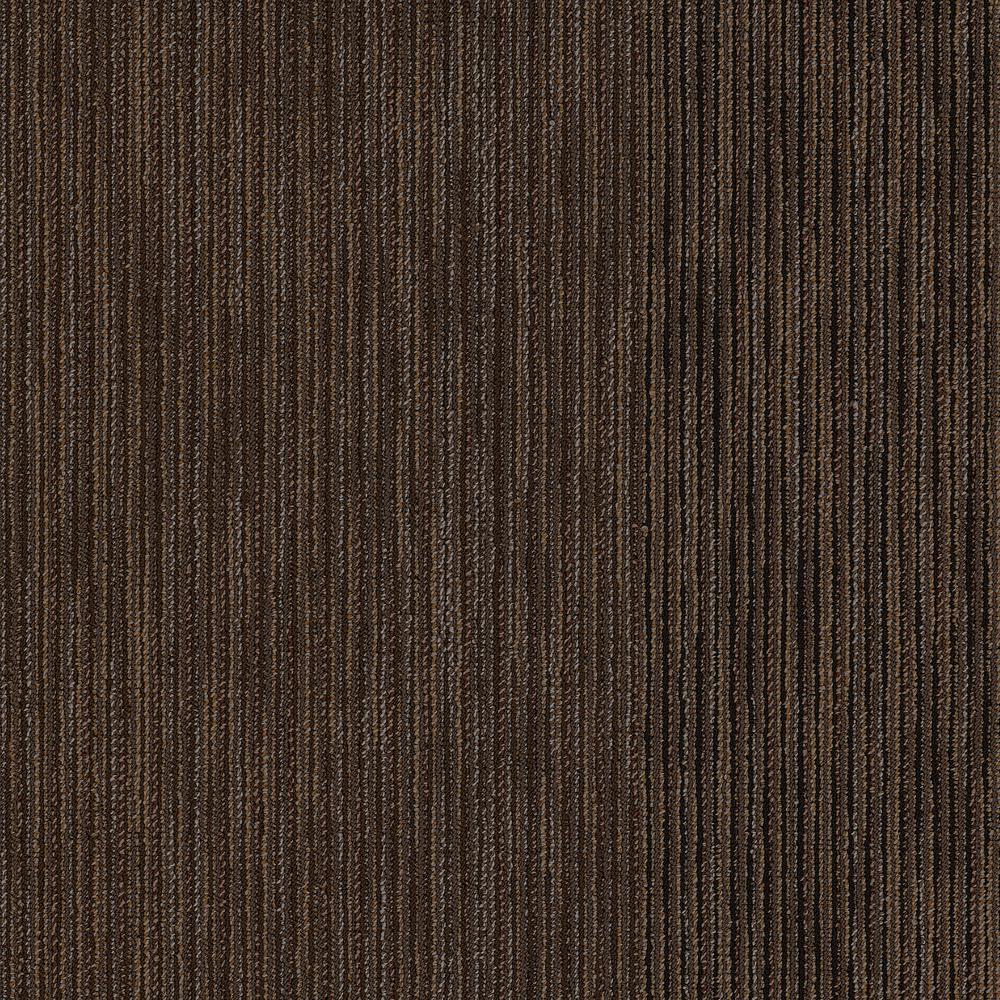 Fellowship Pepperwood Loop Pattern 24 in. x 24 in. Carpet Tile (20 Tiles/Case)