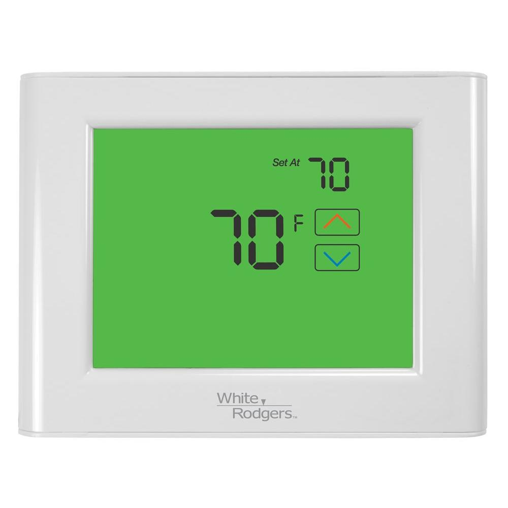 White Rodgers UP400 7-Day Universal Touchscreen Programmable Thermostat