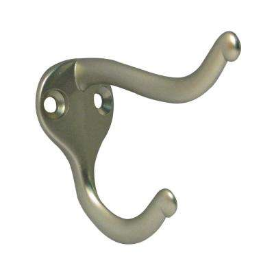 Nystrom Pewter 3 in. Coat and Hat Hook 2.1 in. H (2-Pack)