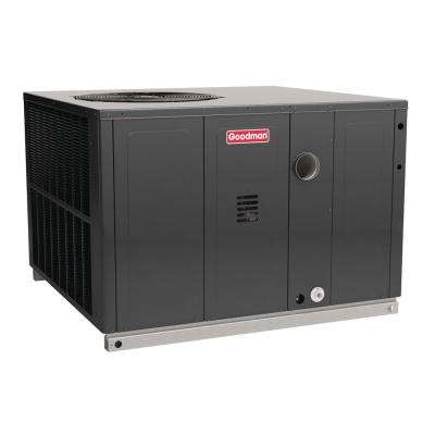 5 Ton 14 SEER 81% AFUE 120,000 BTU Heating R-410A Multi-Position Package Air Conditioner with Gas
