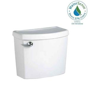 American Standard Cadet 3 1.28 GPF Single Flush Toilet Tank Only for Concealed Trap-Way Bowl in White by American Standard