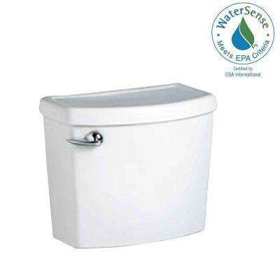 Cadet 3 1.28 GPF Single Flush Toilet Tank Only for Concealed Trap-Way Bowl in White