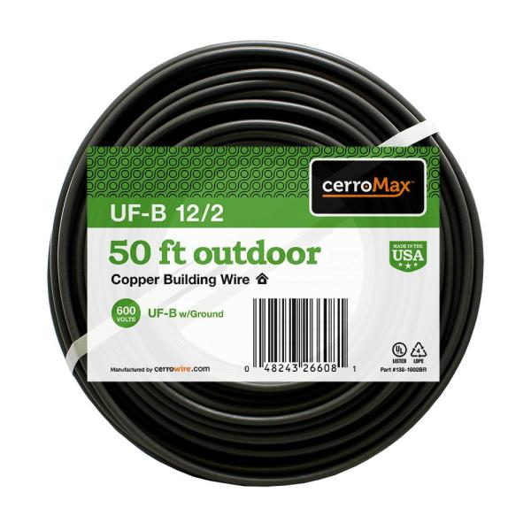 50 ft. 12/2 UF-B Cable