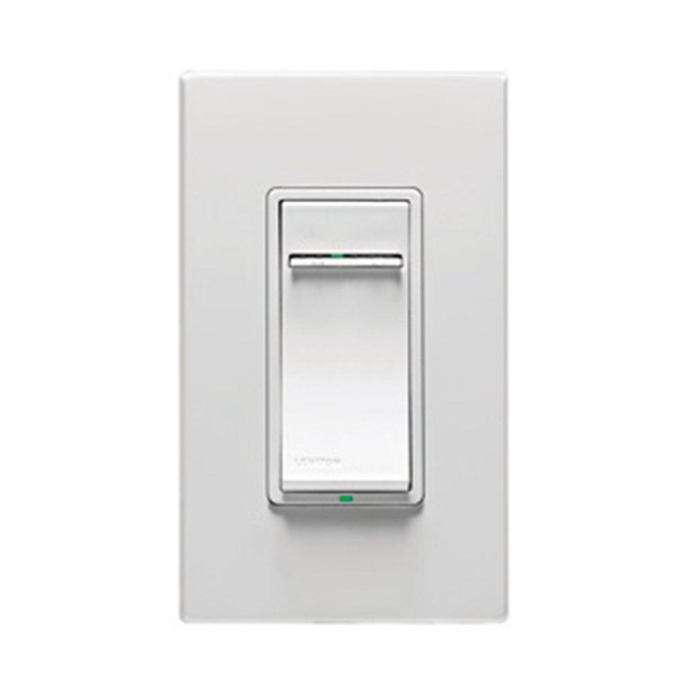 Leviton Vizia RF+ 1000-Watt Incandescent Scene Capable Dimmer with LED Locator, White