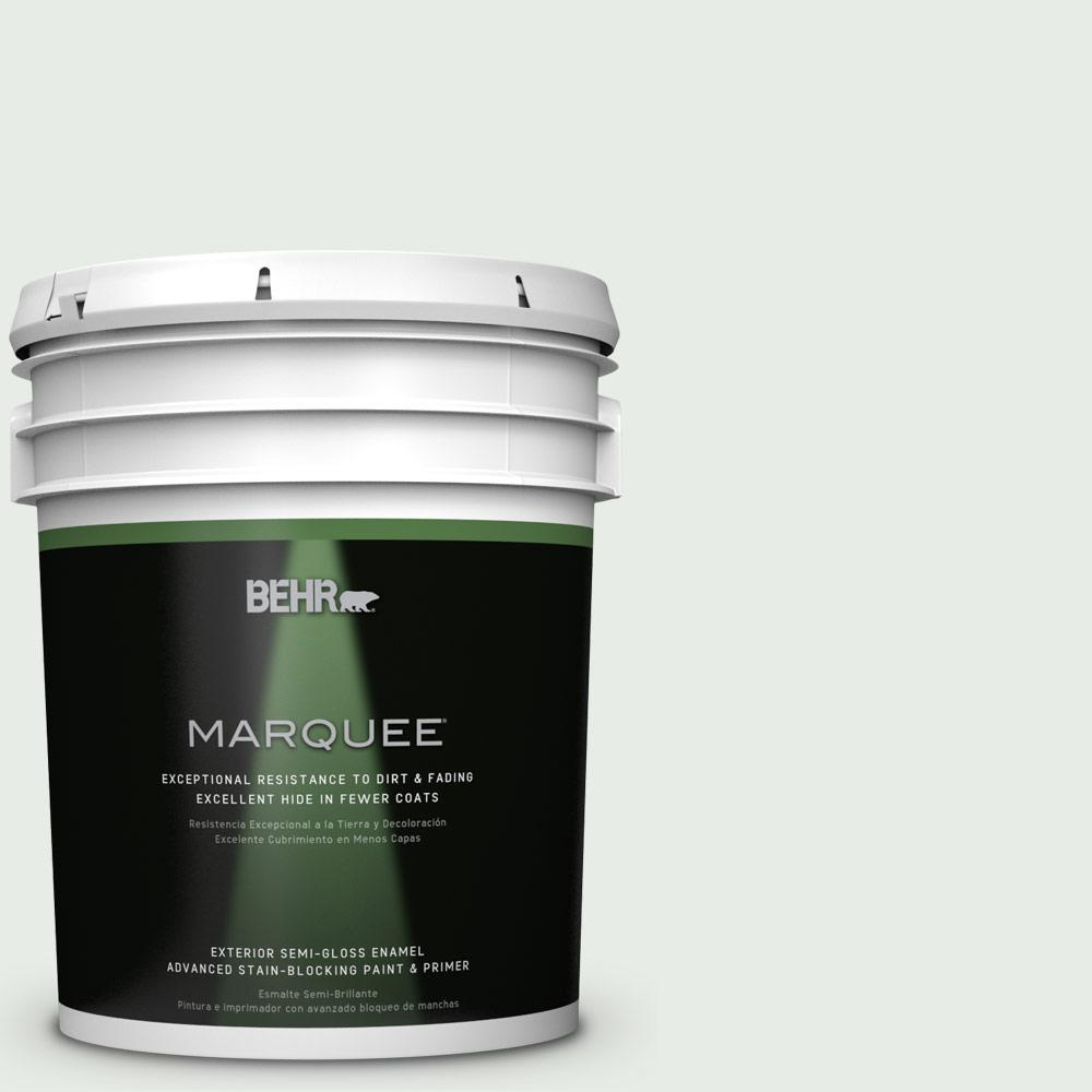 5-gal. #BWC-19 Queen Anne's Lace Semi-Gloss Enamel Exterior Paint