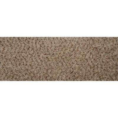 Tranquility Toffee 10 in. x 31 in. Flat Traditional Stair Tread