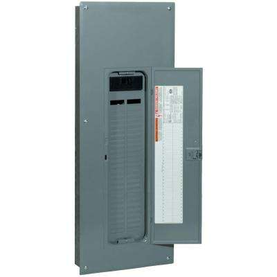 QO 200 Amp 54-Space 54-Circuit Indoor Main Breaker Plug-On Neutral Load Center with Cover