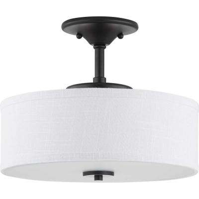 Inspire LED Graphite Integrated LED Semi- Flush Mount