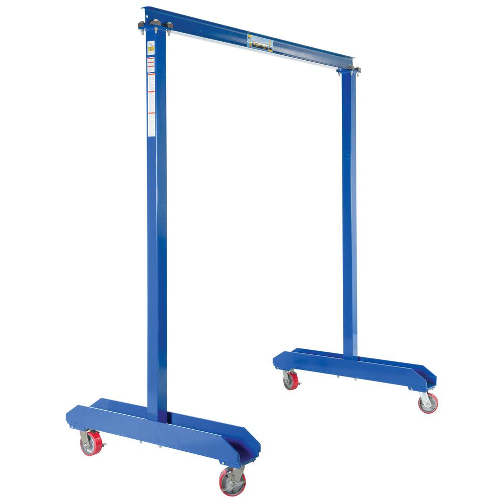 2,000 lb. Capacity Portable Work Area Gantry Crane