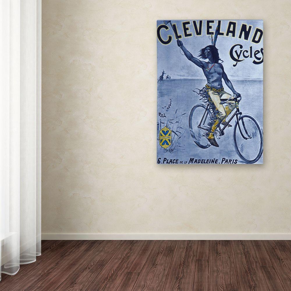 Trademark Fine Art 19 in. x 14 in. Bike 55 Canvas Art