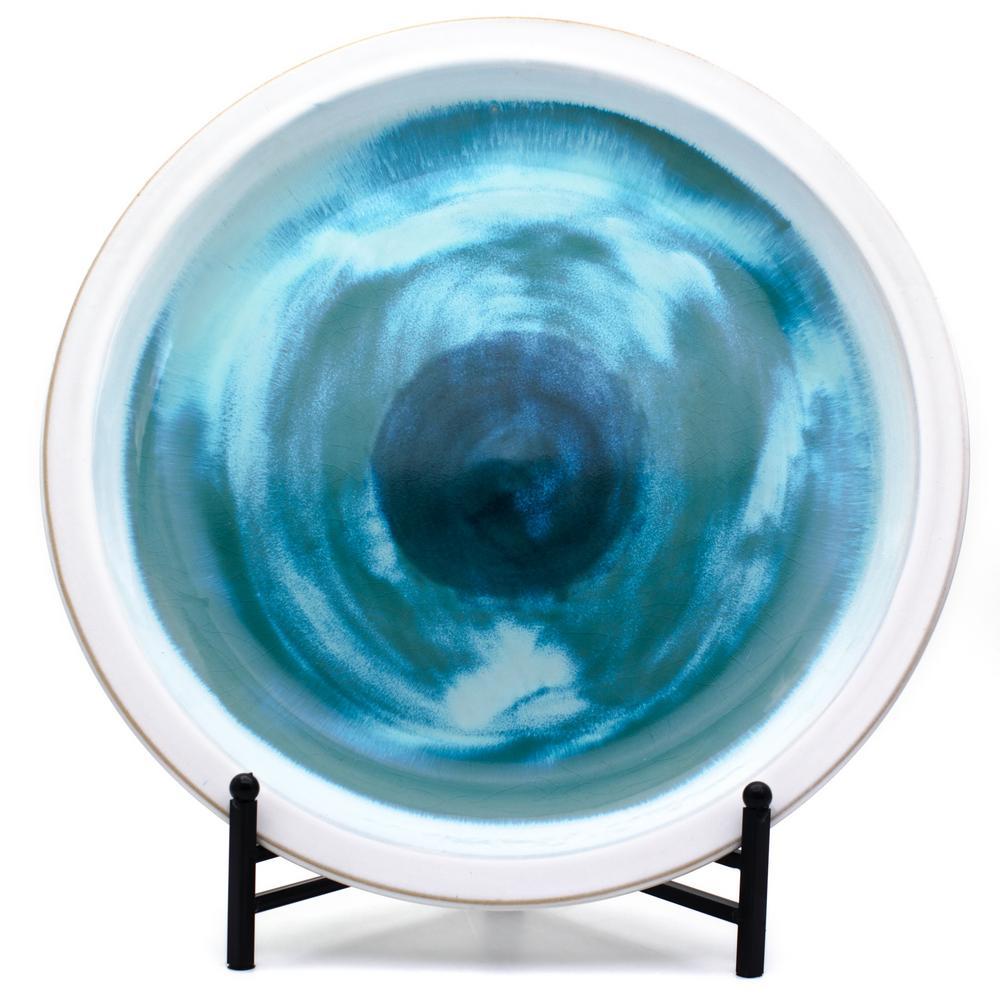 Grotto Multi-Color Decorative Platter