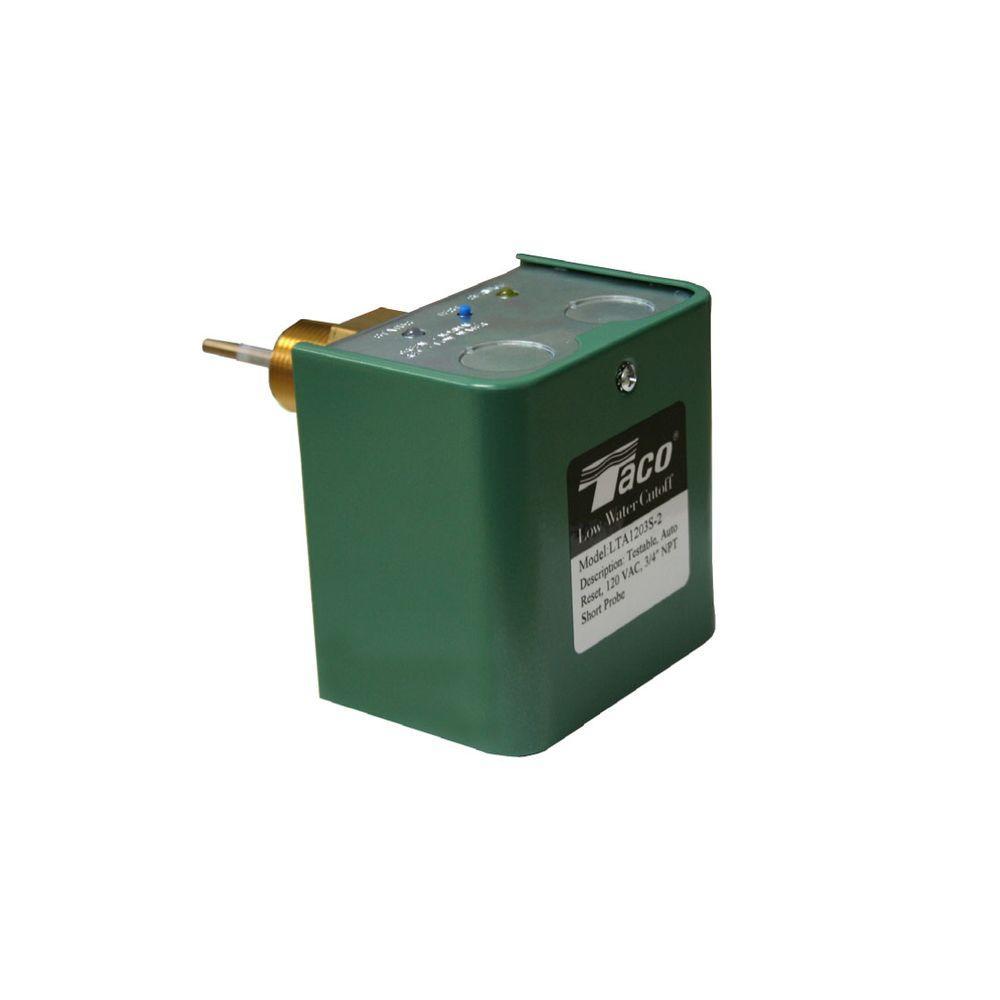 Taco 3/4 in. NPT 120-VAC Probe Low Water Cutoff Auto Reset