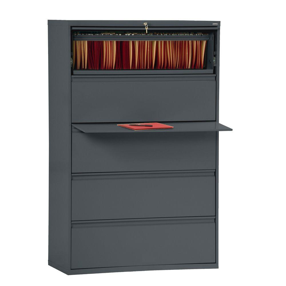 Sandusky 800 Series Charcoal File Cabinet
