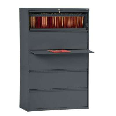800 Series Charcoal File Cabinet