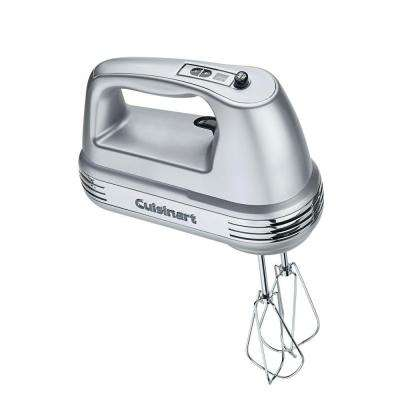 Power Advantage 9-Speed Brushed Chrome Hand Mixer