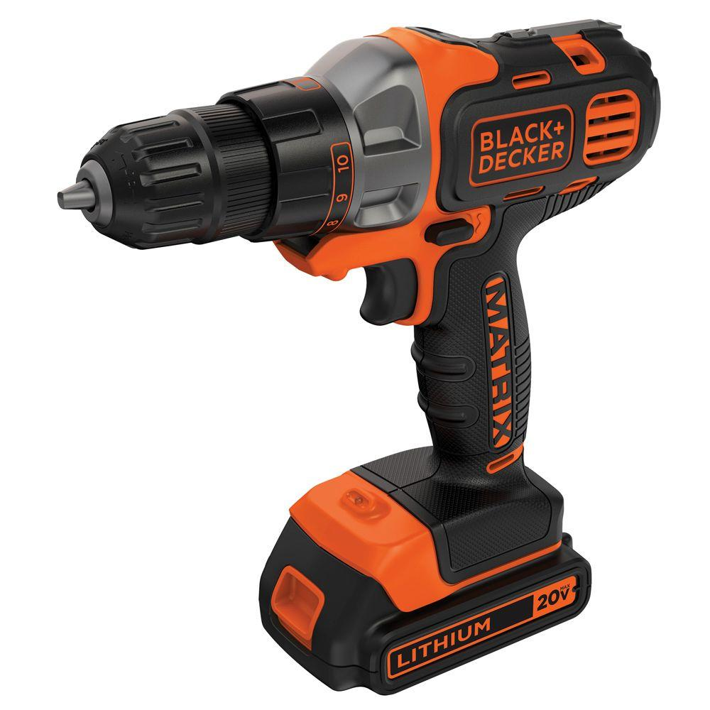 20-Volt MAX Lithium-Ion Cordless Matrix Drill/Driver with Battery 1.5Ah and