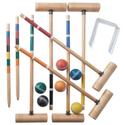 6 Player Professional Croquet Set