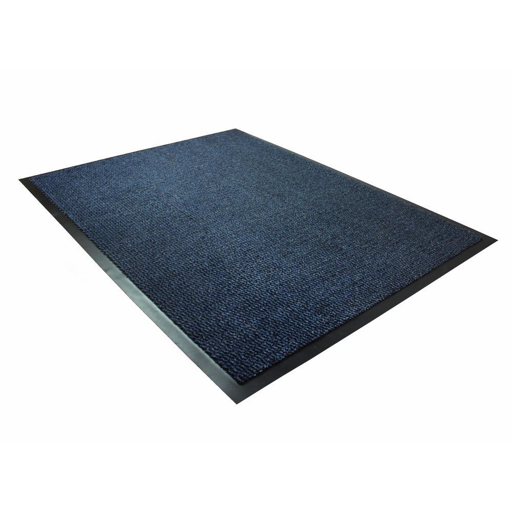 Floortex Doortex Advantagemat 24 In X 36 In Rectangular Indoor Entrance Mat In Blue Fr46090dcblv The Home Depot