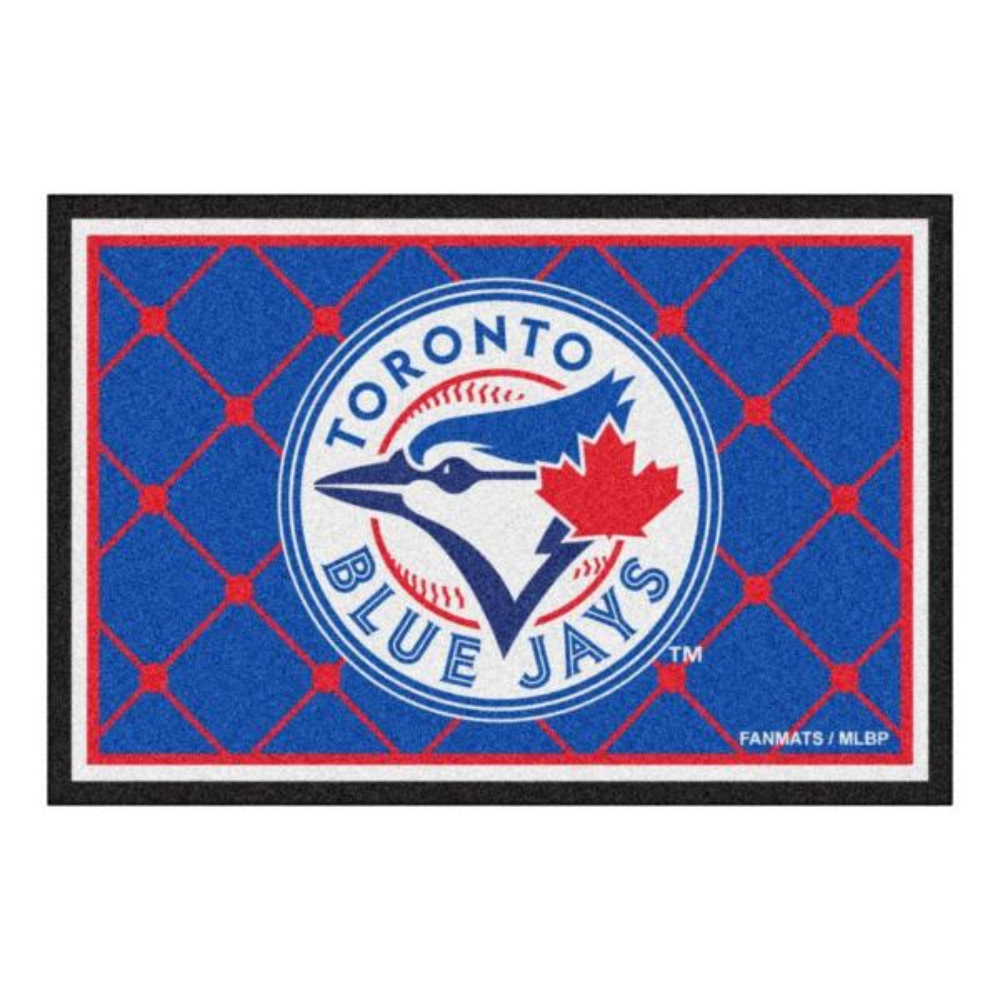 MLB - Toronto Blue Jays Blue 5 ft. x 8 ft. Indoor Area Rug