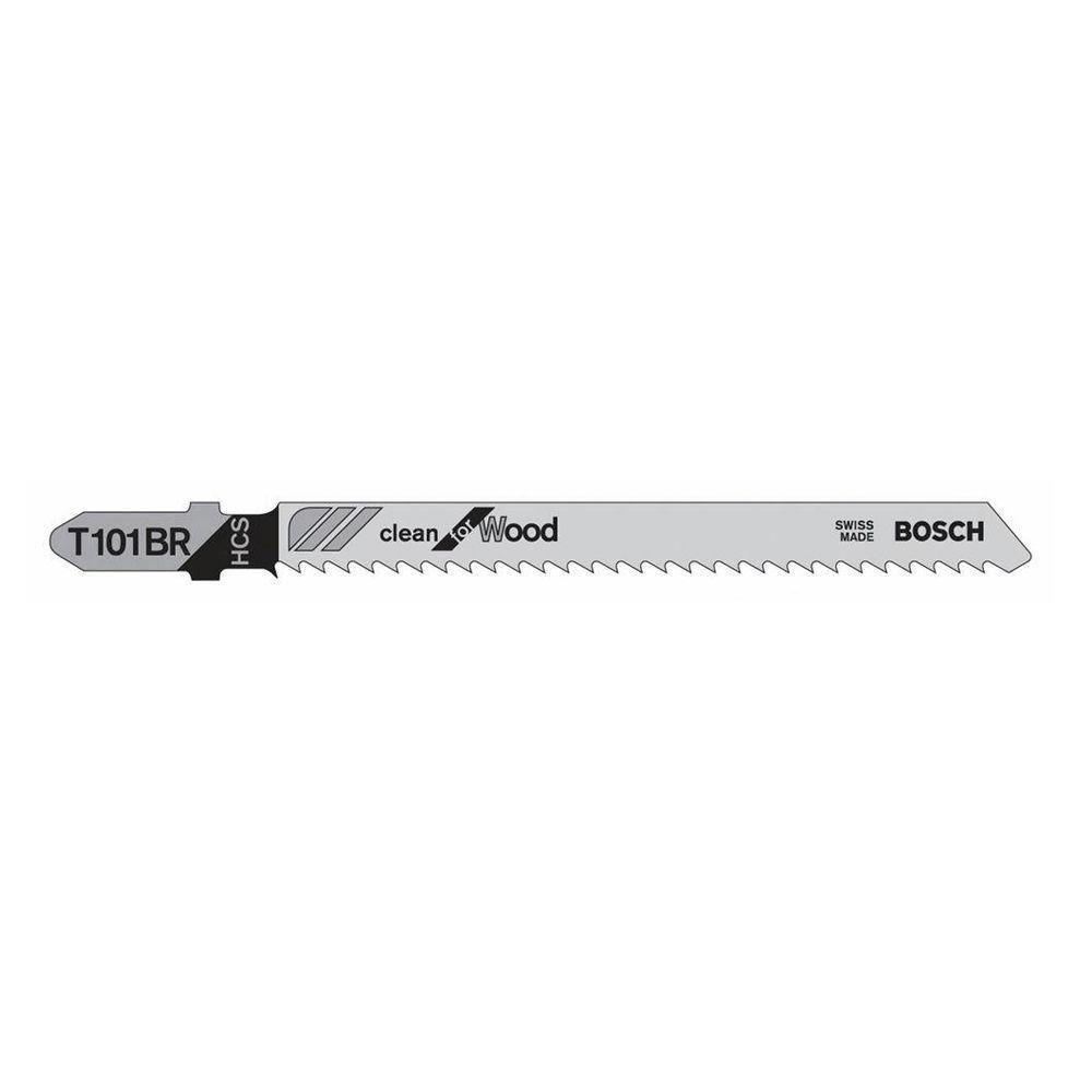Bosch 4 in 10 teeth per inch high carbon steel jig saw blade for bosch 4 in 10 teeth per inch high carbon steel jig saw blade for cutting wood plastic and laminated particleboard 5 pack t101br the home depot greentooth Gallery