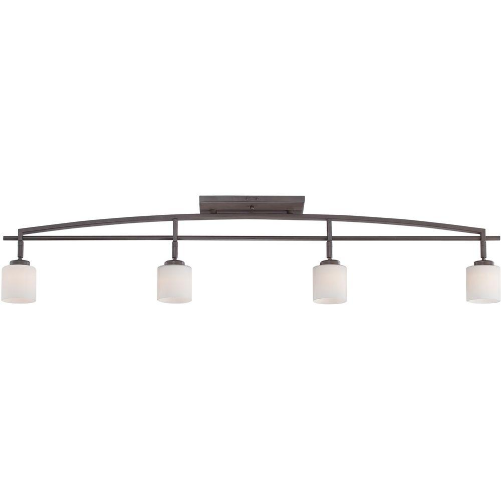 Home Decorators Collection Taylor 4-Light Western Bronze Track Lighting