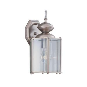 Exeter Collection Wall Mount Outdoor Pewter Lantern