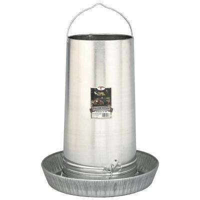 40 lb. Metal Hanging Poultry Feeder