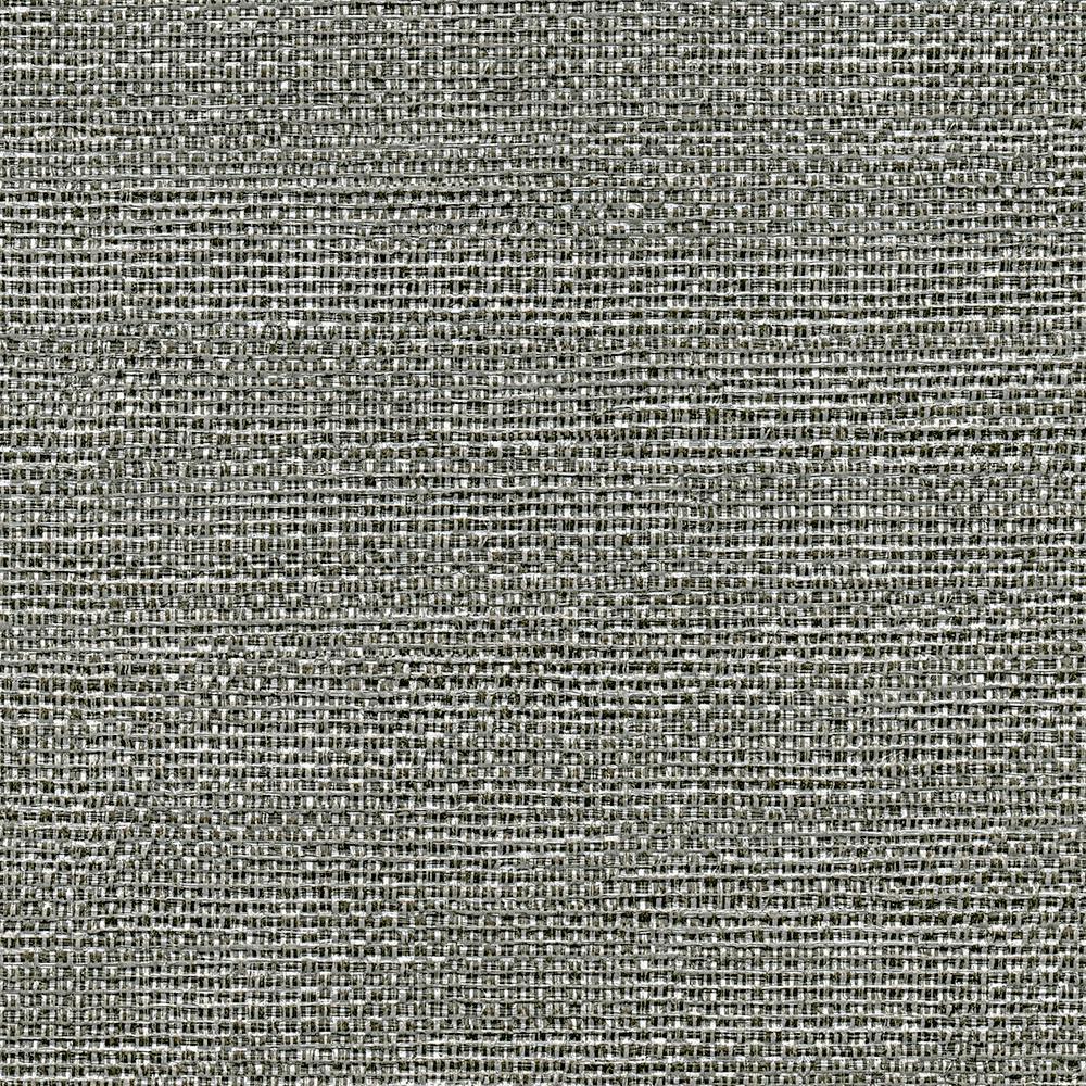 undefined 8 in. x 10 in. Bohemian Bling Black Basketweave Wallpaper Sample