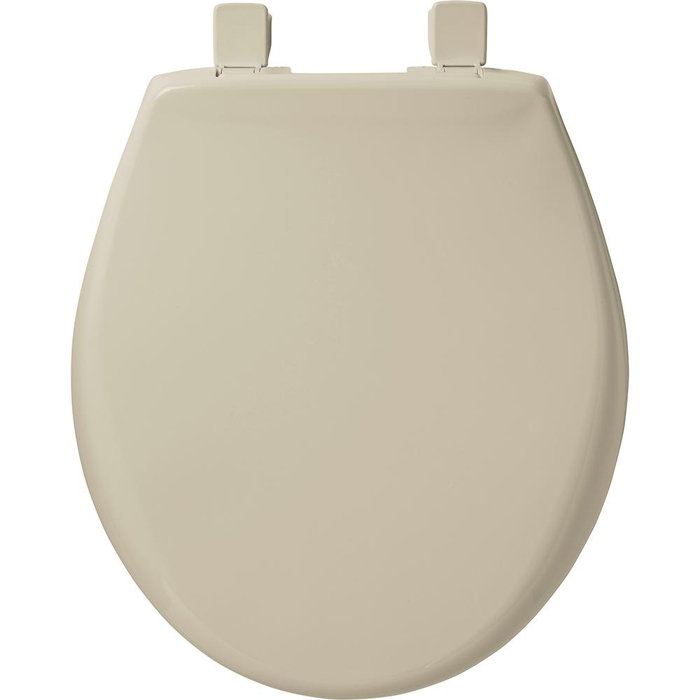 Bemis Slow Close Sta Tite Round Closed Front Toilet Seat
