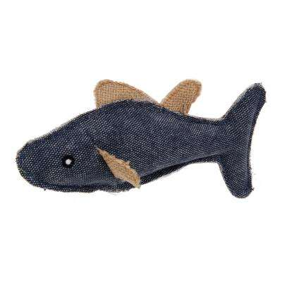 Large Durable Fish Plush Kitty Catnip Cat Toy