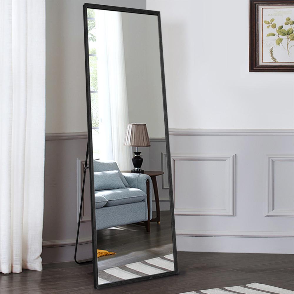 Solid Wood Full Length Mirror Dressing