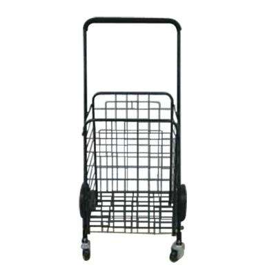 19 in. Rolling Shopping Cart