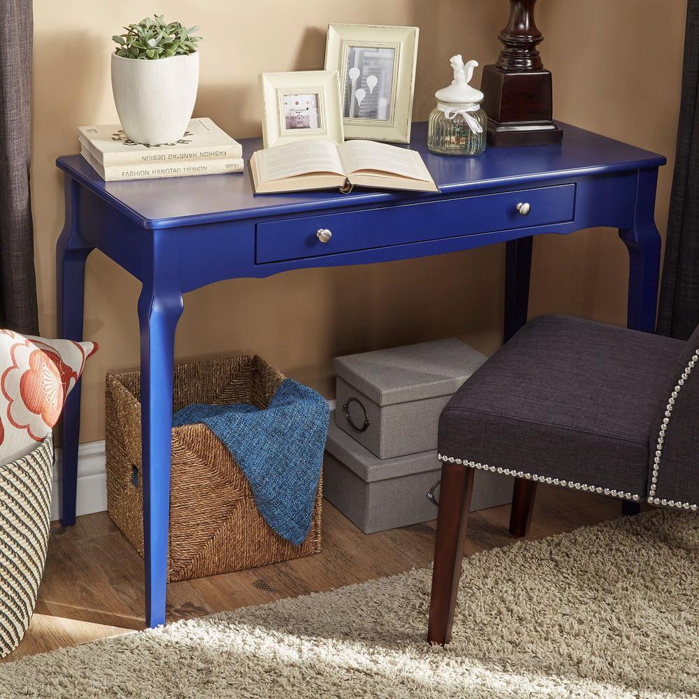 Twilight Blue Writing Desk