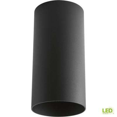 Black Integrated LED Outdoor Flush Mount