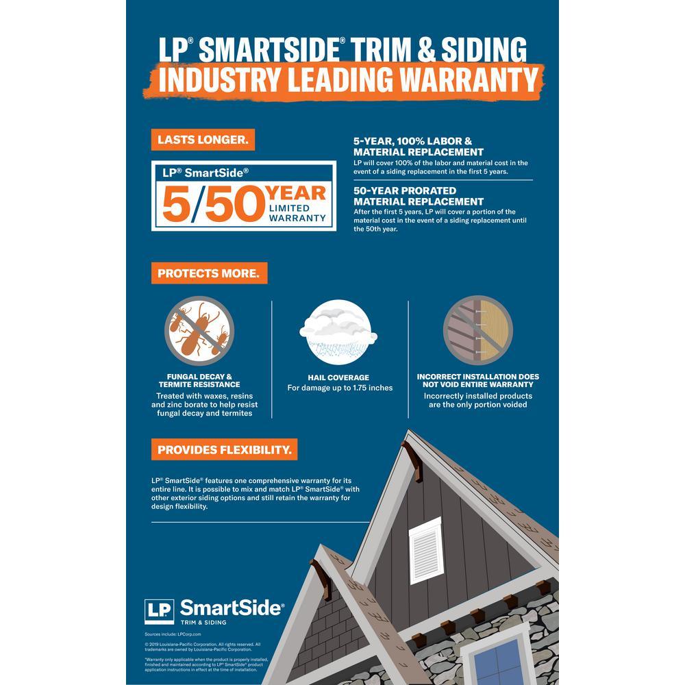 Lp Smartside 48 In X 96 Strand Panel Siding 27874