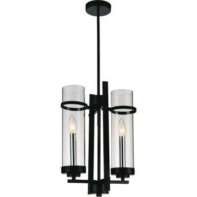 Sierra 2-Light Black Pendant