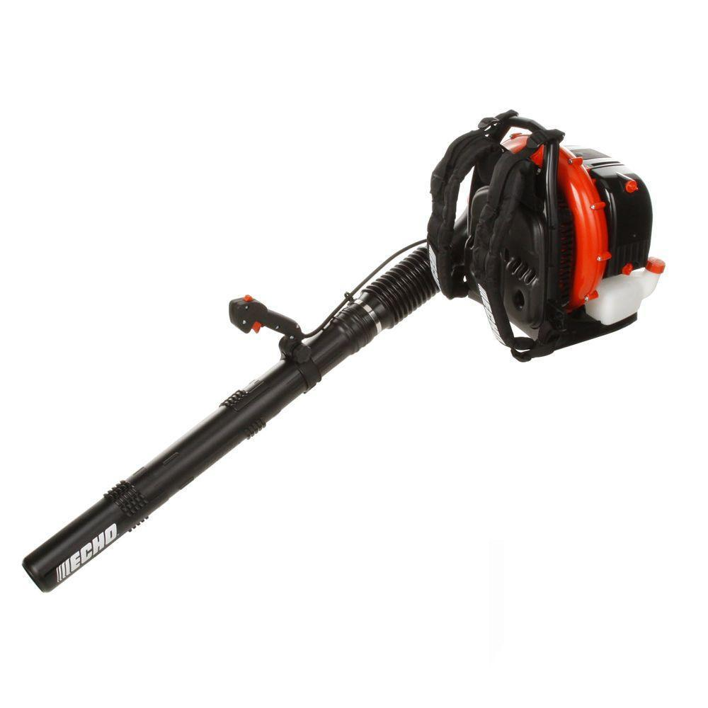 ECHO 234 MPH 756 CFM 63.3cc Gas 2-Stroke Cycle Backpack Leaf Blower with Tube Throttle