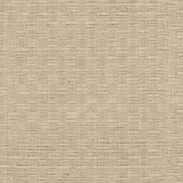 Brewster Beige Woven Texture Wallpaper Sample 3097-50SAM